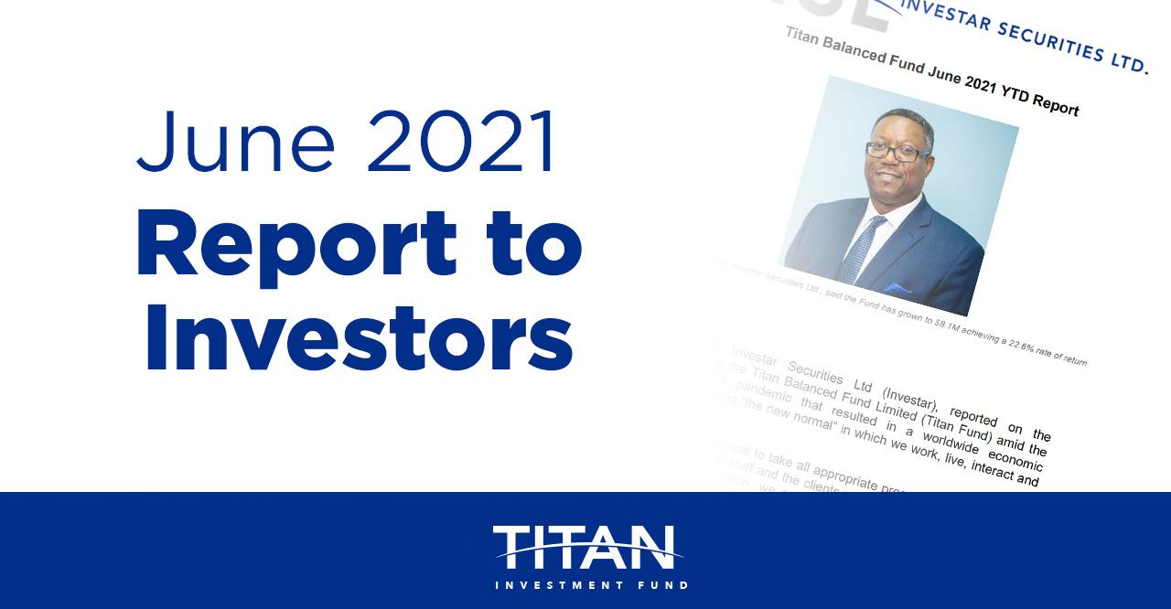 Report to Investors